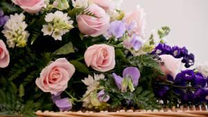 Bestil blomster ved samtalen